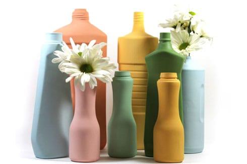 Schöne Upcycling Vasen