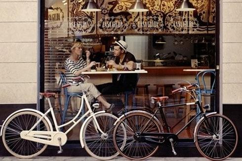 Fahrraeder mit Eco-Chic