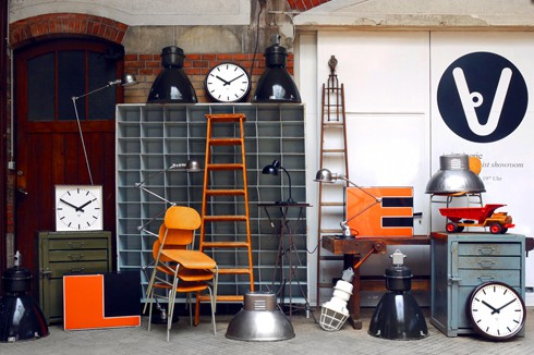 Vintagerie Industrial Design Pop-up-Store