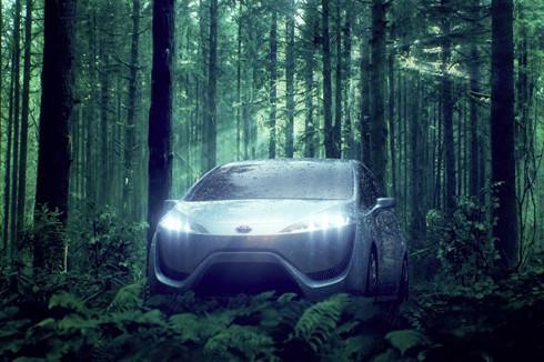 Wasserstoffauto: Der Toyota FCV-R