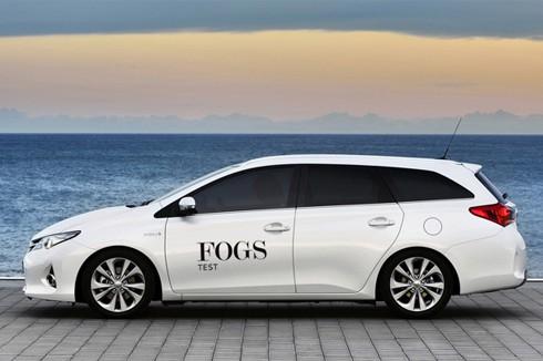 Im Test: Toyota Auris TS 1.8 VVT-i Hybrid Lounge