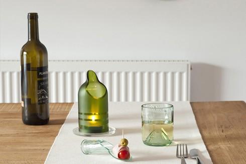 Hippes Recyling: Die Pure-Bottle von Lucirmás