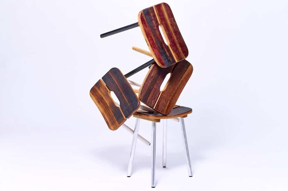 Möbel aus Barrique Fässern