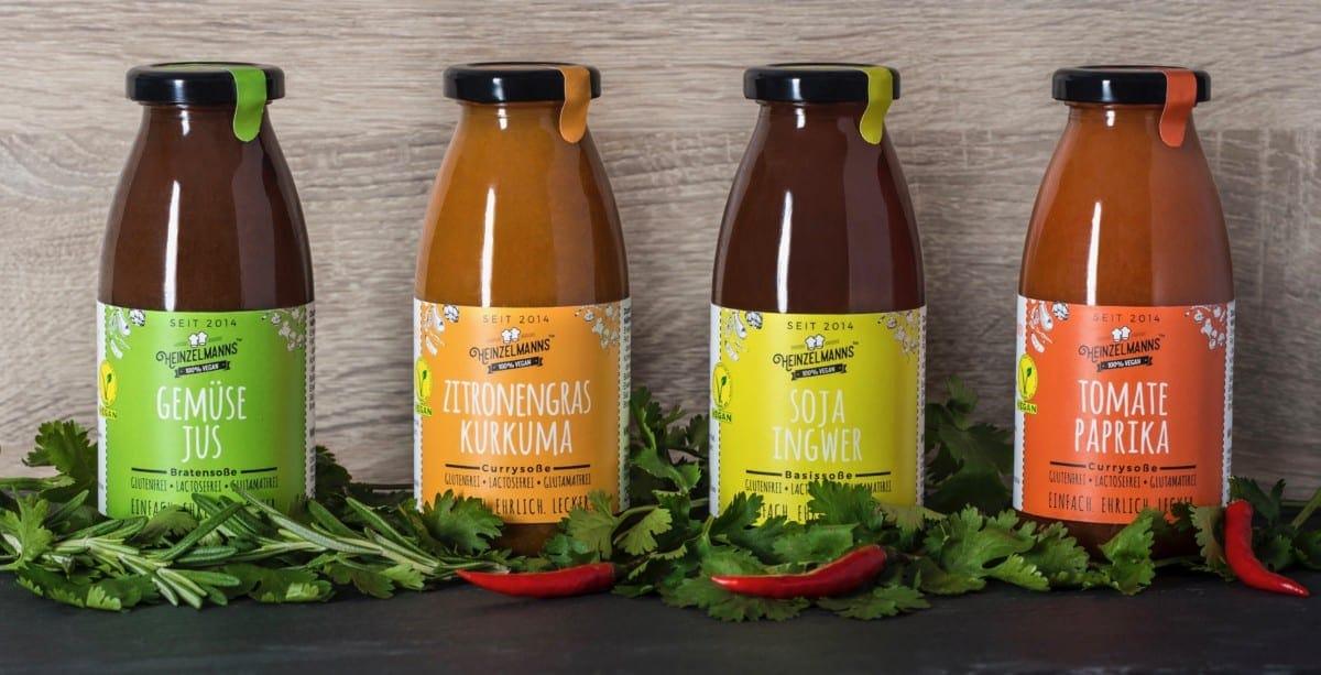 Genuss-Currys und Soßen von Heinzelmanns