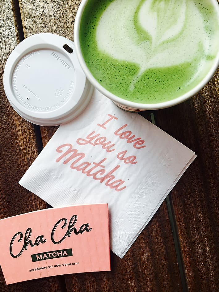 I love you so Matcha!