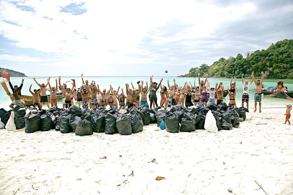 Es ist unglaublich, wie viel Müll an manchen Stränden herumliegt / Photo: World Cleanup Day