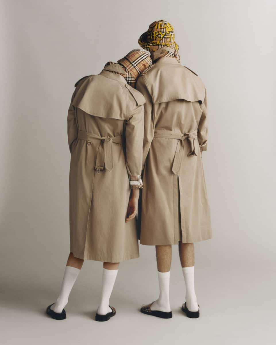 Burberry Heritage Trench Reimagined - photographed by Thurstan Redding, styled by Ruben Moreira