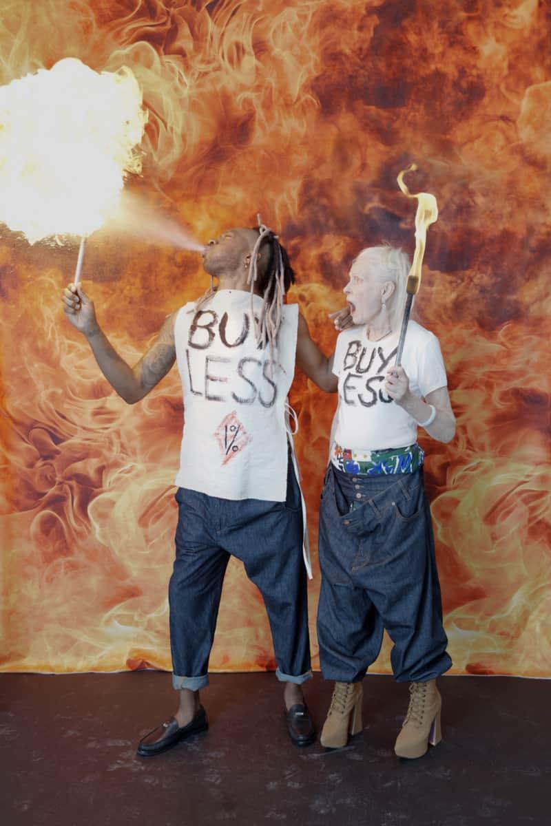 """Vivienne Westwood setzt mit ihrer """"Buy less""""-Bewegung ein Zeichen gegen den Konsum"""