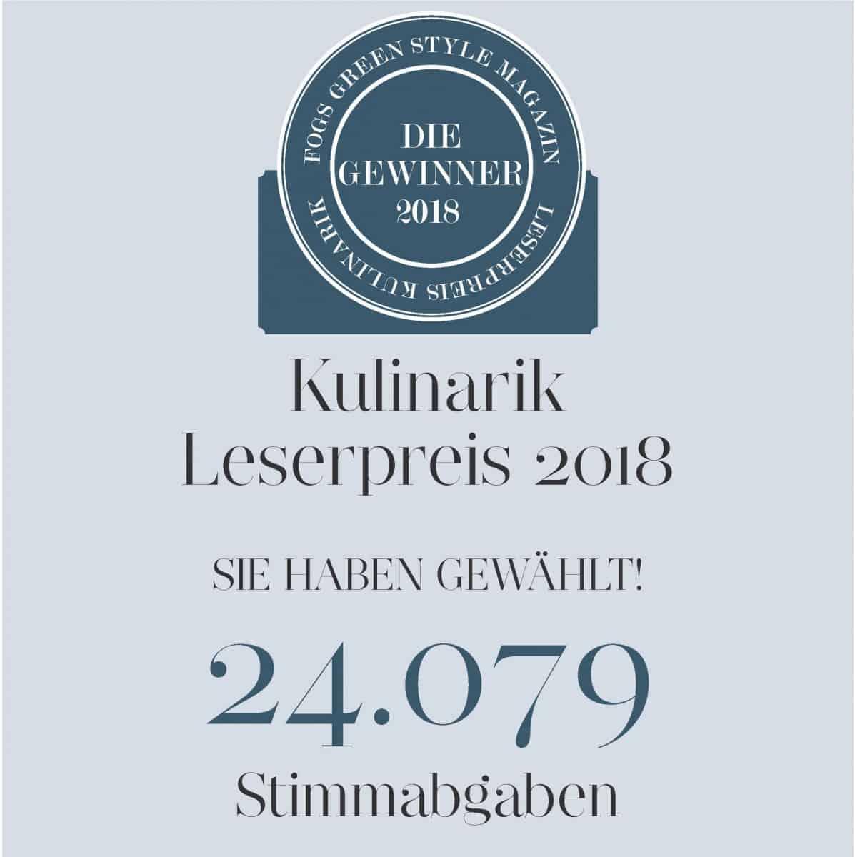 FOGS Kulinarik Leserpreis: Das sind die Gewinner!