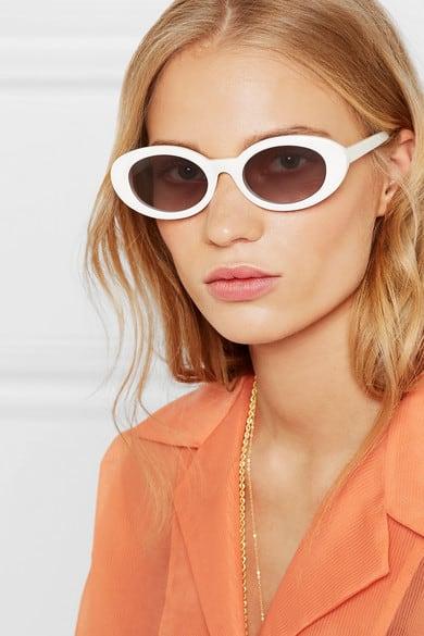 McKinley Sonnenbrille von Elizabeth and James mit ovalem Rahmen aus Azetat um €180,-