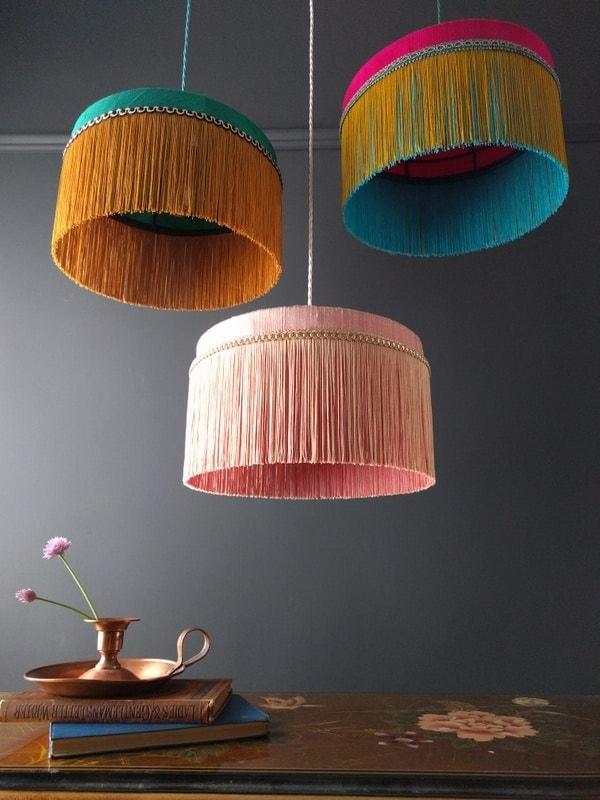 Interior-Update Lampenschirm: Farbenfrohes von beauvamp
