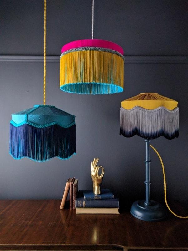 Diese Farbkombis peppen jedes Zimmer auf und versprühen happy Vibes! Um ca. € 300,- via beauvamp.com