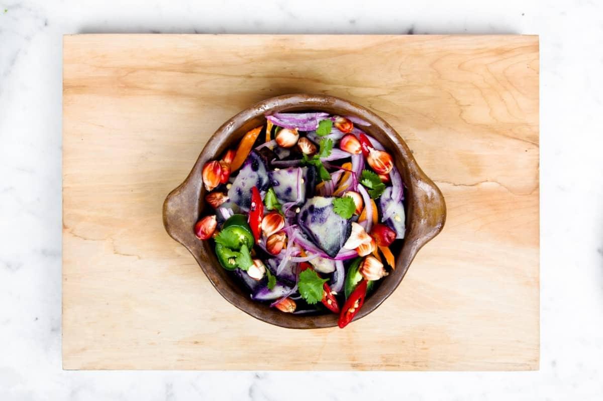 Raw Food: heiß ohne und gegen Hitze