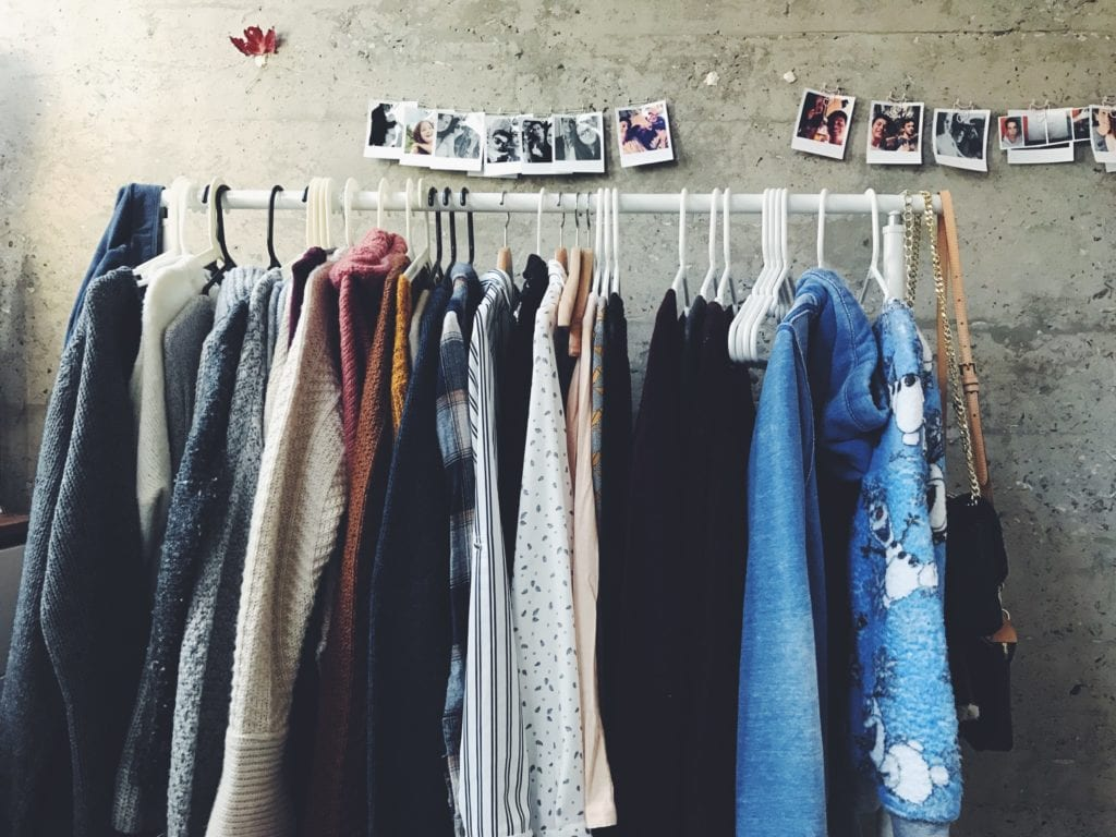 Fair Fashion heißt auch, Gebrauchtes wieder zu verwerten.