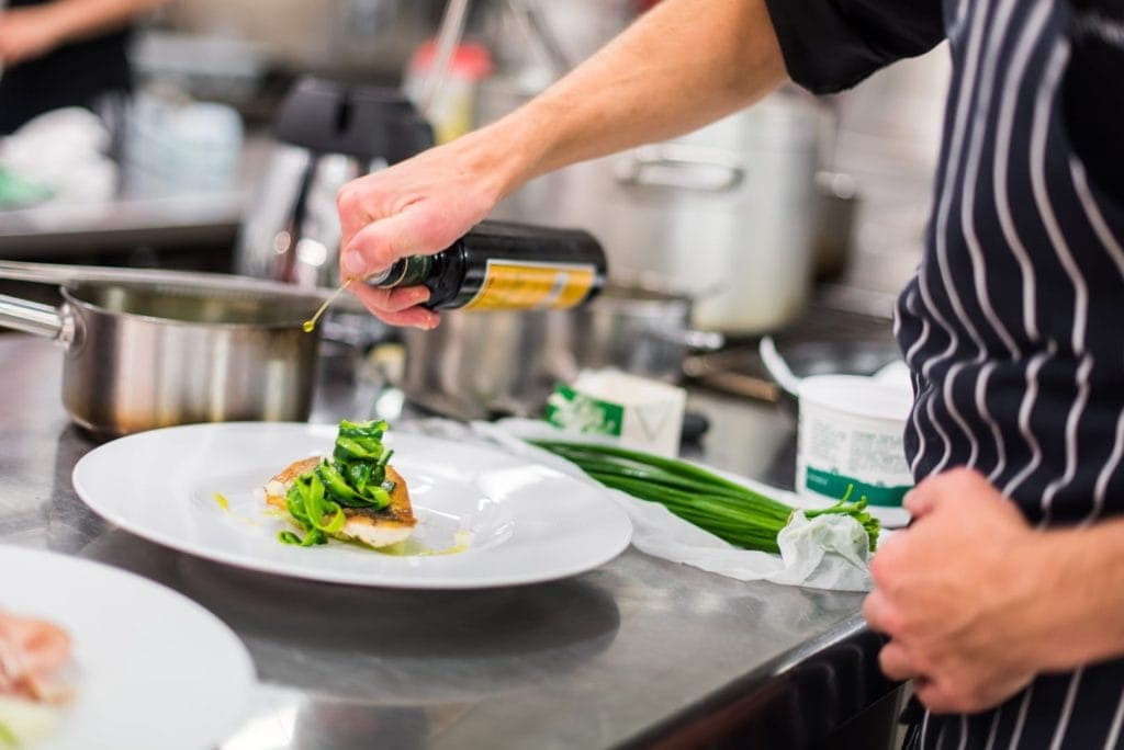 Küche Design Hotel Tyrol Südtirol