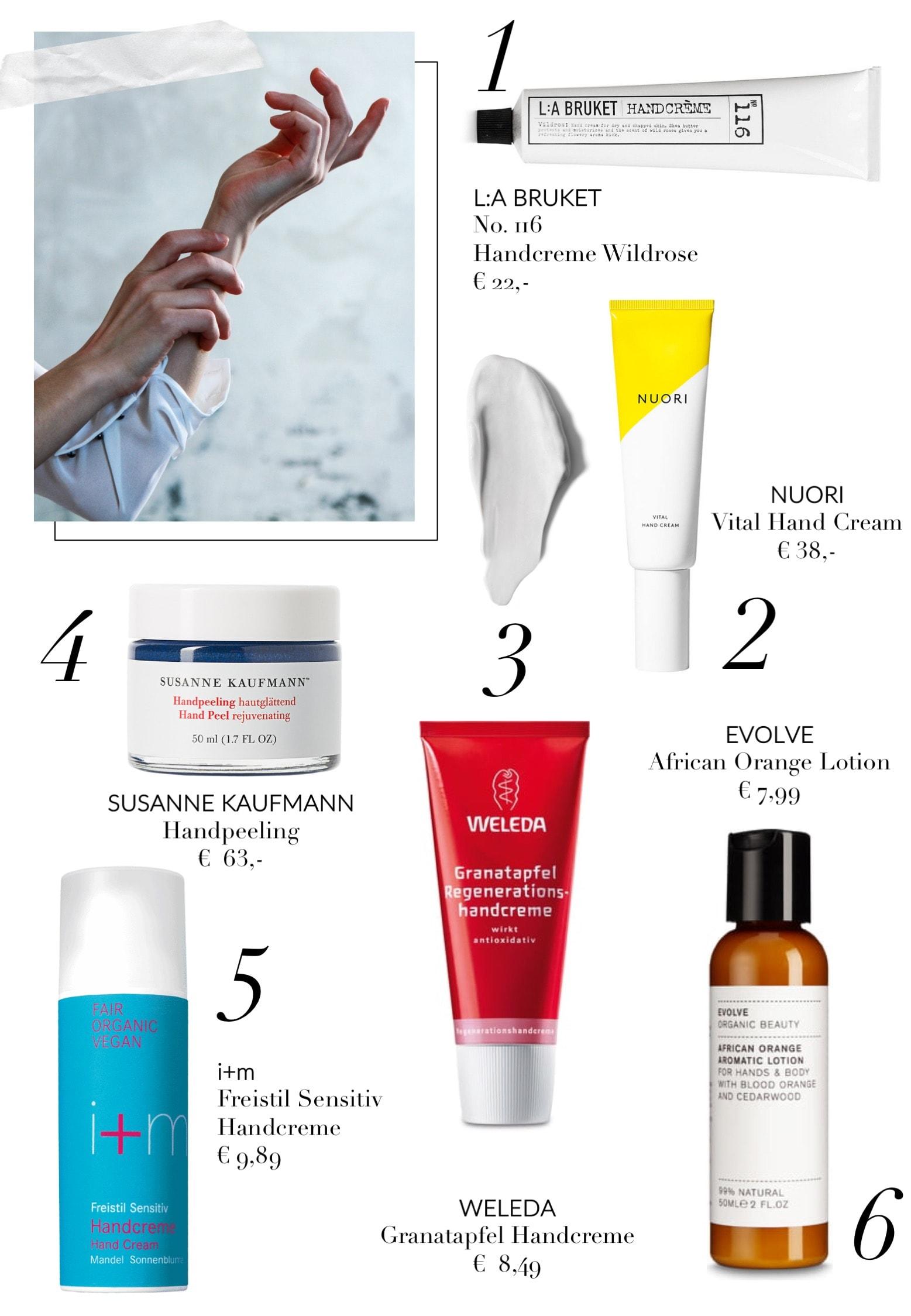 Unsere natürlichen Handpflege-Favoriten