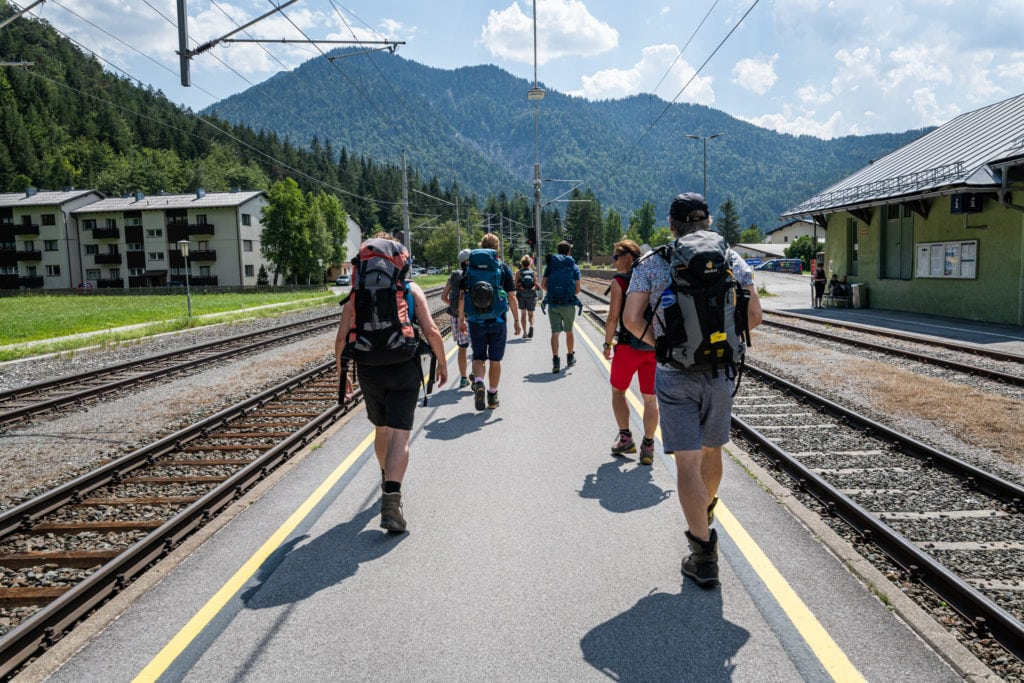 Nachhaltig mit dem Zug in die Berge