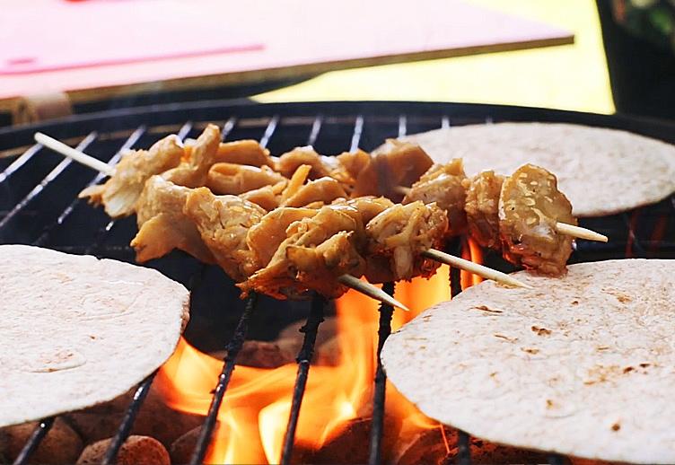 Vegan Grillen mit Like Chicken