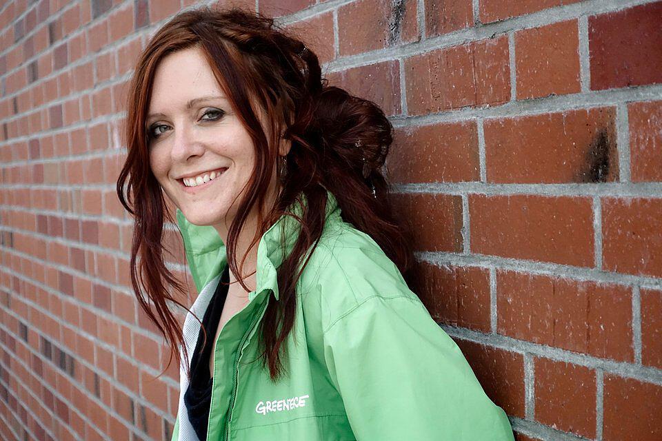 Greenpeace-Konsumexpertin Viola Wohlgemuth
