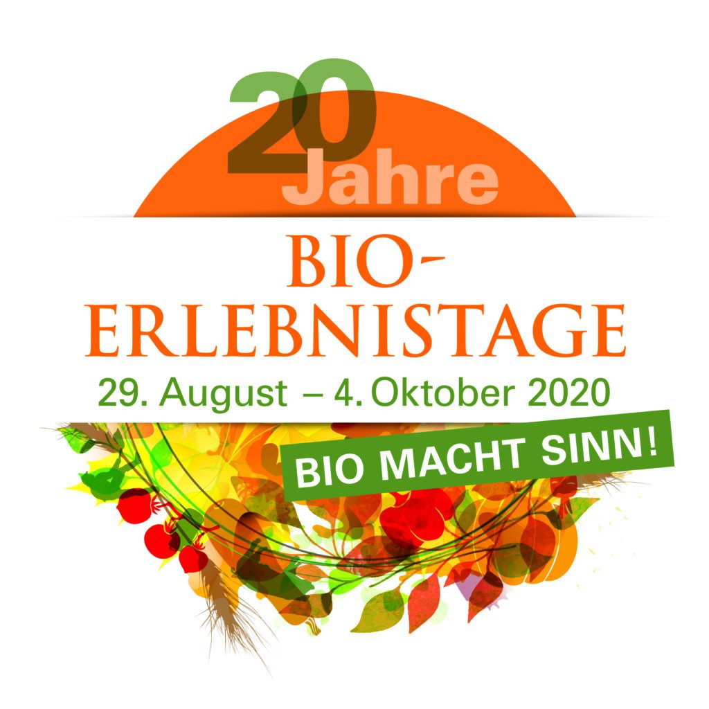 Logo der Bio-Erlebnistage 2020