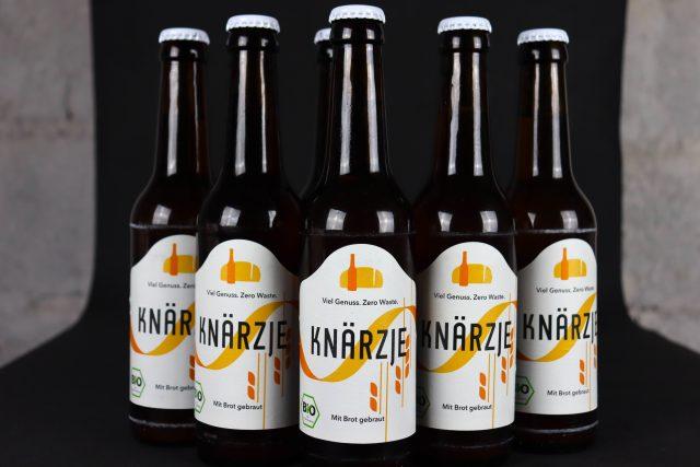 Das erste Zero Waste Bier Deutschlands: Knärzje