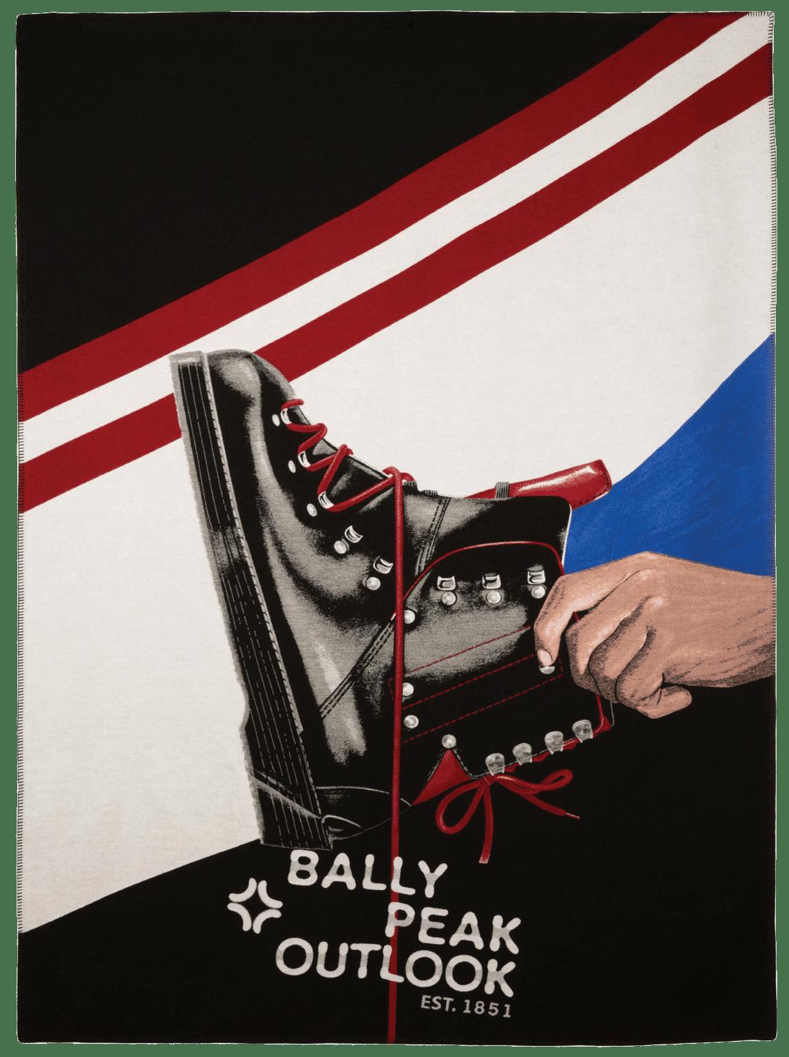 Decke aus der Bally Peak Outlook Capsule Collection