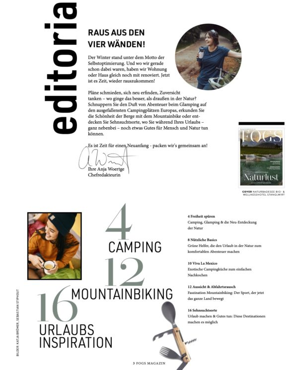 FOGS Frühjahr 2021 - Reise Special