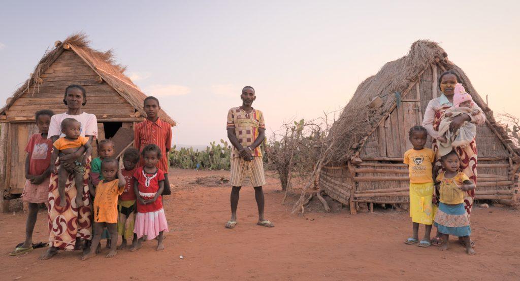 Eine Familie in Afrika: Emilie Auje-Madagascar