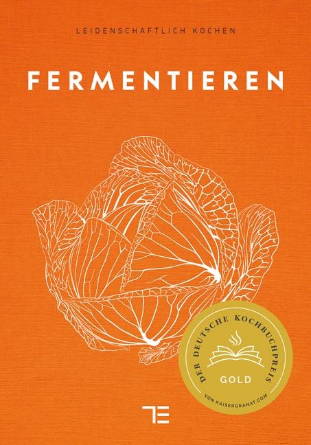 Buch über Fermentiertes: Fermentieren über den Teubner Verlag.